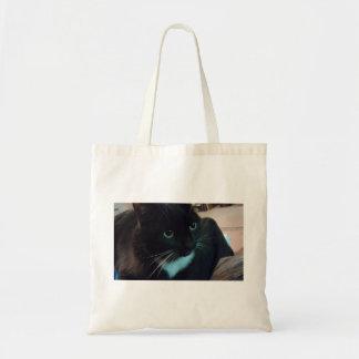 Sacola com imagem do gato bolsa para compras