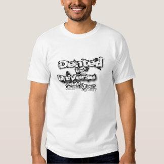 Sacola corajosa do universo do denteamento camisetas