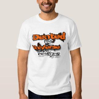 Sacola corajosa do universo do denteamento t-shirt