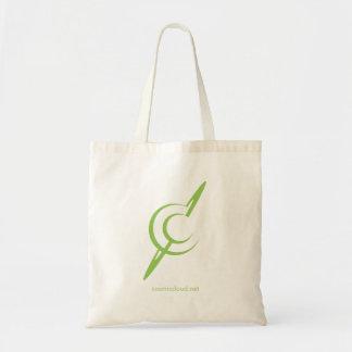 Sacola cósmica da nuvem (logotipo) sacola tote budget
