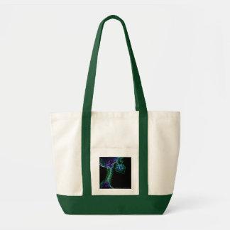 sacola (customizável) da C-espinha da Multi-cor Sacola Tote Impulse