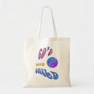 sacola da criança de amor dos anos 60 bolsa