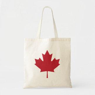 Sacola da folha de bordo de Canadá Bolsa Tote