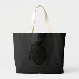 Sacola da granada dos desenhos animados bolsa de lona
