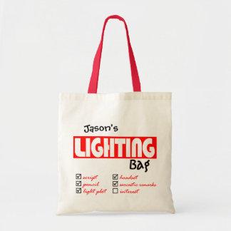 Sacola da iluminação bolsa tote