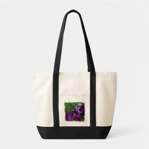 Sacola da íris japonesa bolsa para compra