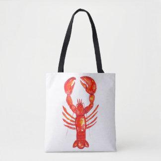 Sacola da lagosta, o bolsa do fim de semana das