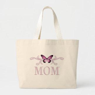 Sacola da mamã da borboleta bolsa tote grande