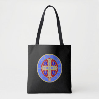 Sacola da medalha do St. Benedict Bolsas Tote