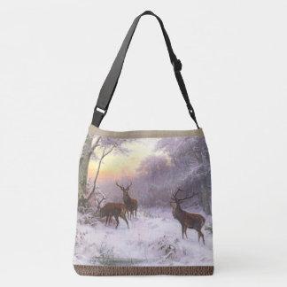 Sacola da neve dos animais dos animais selvagens bolsa ajustável