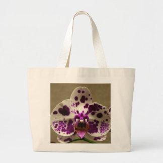 Sacola da orquídea sacola tote jumbo