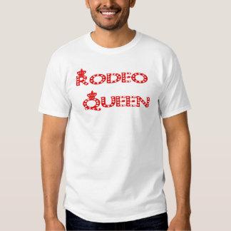 Sacola da rainha do rodeio tshirts