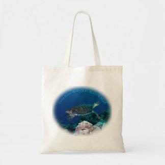 Sacola da tartaruga de mar bolsa
