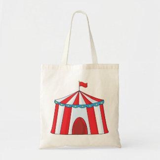 Sacola da tenda do circus bolsa tote