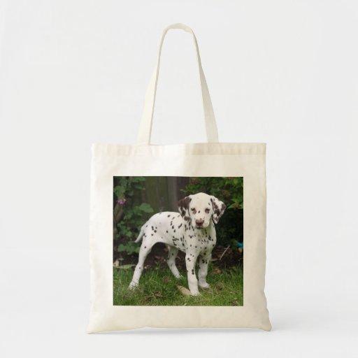 Sacola Dalmatian do cão de filhote de cachorro, id Bolsa Para Compras