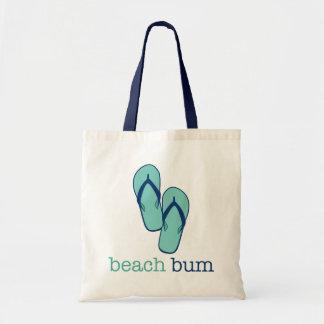 Sacola das canvas do vagabundo da praia dos chinel bolsas para compras