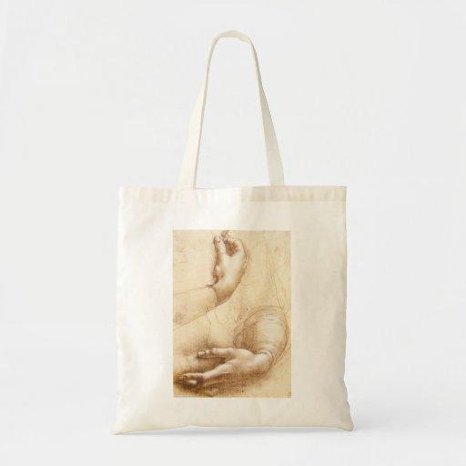 Sacola das mãos de da Vinci Bolsas Para Compras