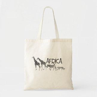 Sacola de África Bolsa Tote
