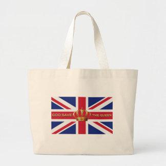 Sacola de hino nacional do Reino Unido Bolsas Para Compras