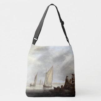 Sacola de Holland do porto do oceano dos veleiros Bolsa Ajustável