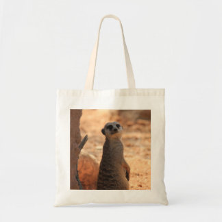 Sacola de Meerkat do peekaboo, bebês do jardim zoo Bolsas Para Compras