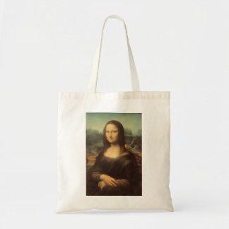 Sacola de Mona Lisa Bolsa De Lona