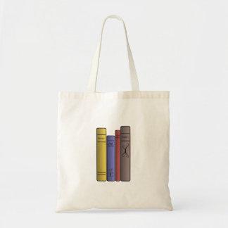 Sacola de quatro livros sacola tote budget