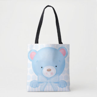 Sacola de Teddybear do bebé Bolsas Tote