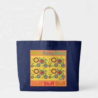 Sacola do bebê bolsa tote grande