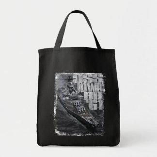 Sacola do bolsa do mantimento de Iowa da navio de