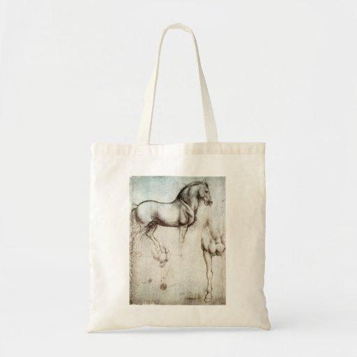 Sacola do cavalo de da Vinci