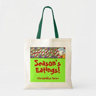 Sacola do Eatings da estação de Garfield Logobox Sacola Tote Budget
