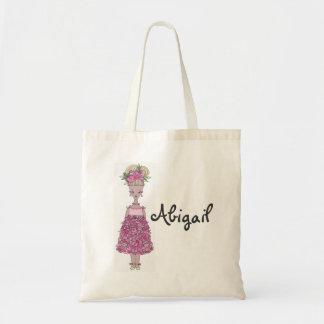 Sacola do florista - personalize (Abigail) Bolsa Para Compras