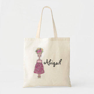 Sacola do florista - personalize (Abigail) Sacola Tote Budget