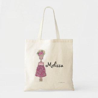 Sacola do florista - personalize - Melissa Bolsas Para Compras