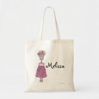 Sacola do florista - personalize - Melissa Bolsa Tote