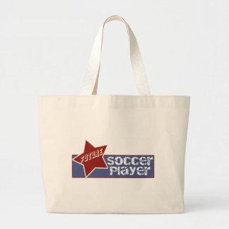 Sacola do futebol dos miúdos sacola tote jumbo