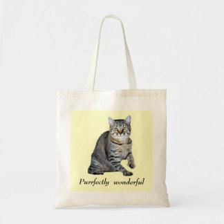 Sacola do gato bolsa de lona