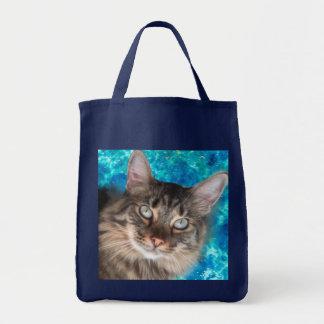 Sacola do gato bolsa tote