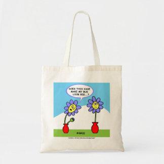 Sacola do humor do marido e da esposa para um sacola tote budget