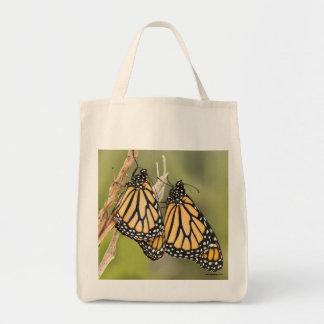 Sacola do mantimento da borboleta de monarca sacola tote de mercado