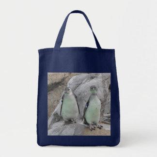 Sacola do mantimento do pinguim sacola tote de mercado