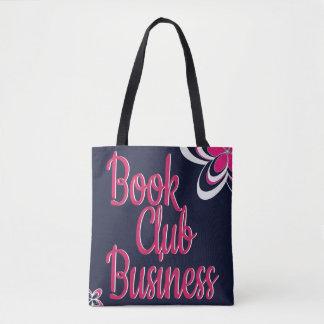 Sacola do negócio do clube de leitura bolsa tote