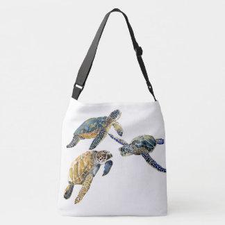 Sacola do ombro dos animais selvagens do oceano bolsa ajustável