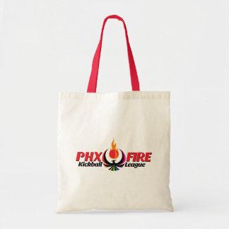 Sacola do orçamento (fogo de Phoenix) Bolsa Tote