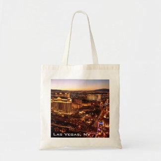 Sacola do por do sol da tira de Las Vegas Sacola Tote Budget