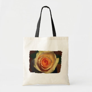 Sacola do rosa amarelo bolsa para compra