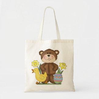 Sacola do urso da páscoa bolsa para compra