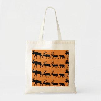 Sacola dos animais selvagens de Alaska Bolsa Tote