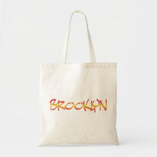 Sacola dos grafites de Brooklyn Sacola Tote Budget